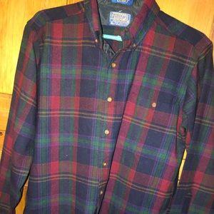 Pendleton 100% Virgin Wool LOBO shirt